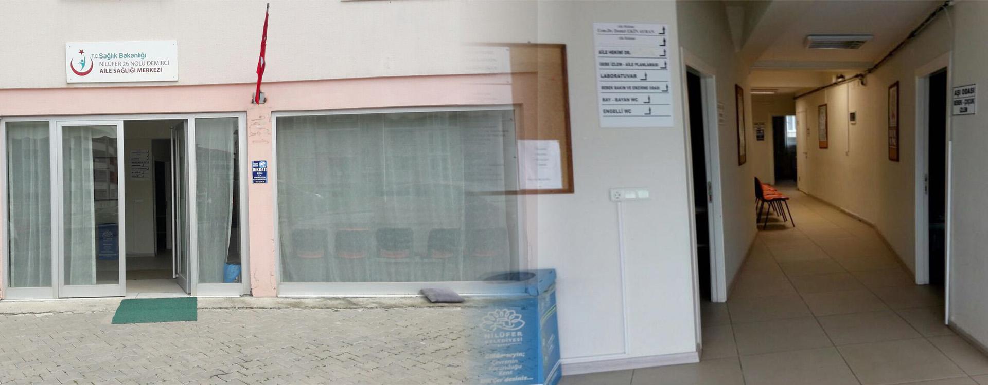 Bursa Nilufer 26 Nolu Demirci Aile Sagligi Merkezi